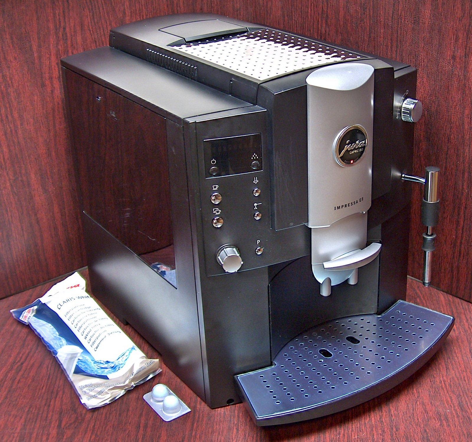 Jura Impressa E8 Super Automatic Espresso Machine