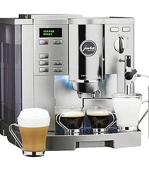 jura impressa s9 super automatic espresso machine with. Black Bedroom Furniture Sets. Home Design Ideas